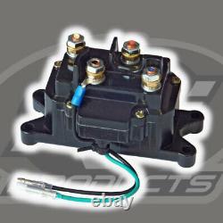Kit Treuil 5000 Lb De Large Pour Polaris Rzr Xp 4 1000 2014-2021 (corde Synthétique)