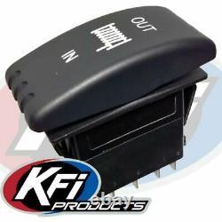 Kit Treuil 5000 Lb Pour Polaris Rzr Xp 4 1000 2014-2021 (corde Synthétique)
