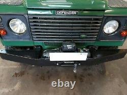 Land Rover Défenseur Winch Bumper Power Mach 12000lb Treuil Et Corde Synthétique