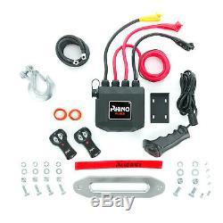 Le 13500lb Electric Recovery Winch, Heavy Duty 4x4 Dyneema Synthétique Corde Rhino