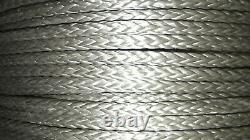 Ligne De Treuil Hmpe 3/8 (10mm) X 300', Corde De Gréement Synthétique, Bras À 12 Branches, États-unis