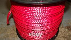 New 1/4x 565' Dyneema Winch Line, Synthetic Pulling Rope, Tresse À 12 Brins