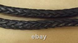 New 3/8x 140' Dyneema Winch Line, Synthetic Pulling Rope, Tresse À 12 Brins