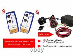 Orcish 12v 4500lb Kits De Treuils À Corde De Synthèse Pour Vtt Électrique Utv