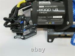 Polaris 6000 Lb Pro Heavy Duty Series Winch, 50' Synthetic Rope
