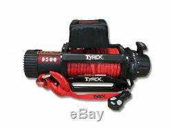 Raptor 4x4 Tyrex 9500lb Treuil Corde Synthétique De Récupération Hors Route Treuillage