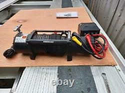 Recovery Electric 13500lb Winch 12v Recovery Truck Treuil Synthétique Rope £310.00