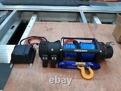 Recovery Winch 13500lb 12v Electric Winch Synthetic Rope £325.00 Inc Cuve