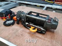 Recovery Winch 13500lb Endurance Synthetic Rope & Plate £365.00 Inc Cuve