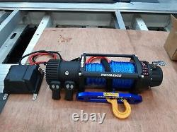 Recovery Winch Electric Endurance 13500lb Synthétique Rope Winch £325.00 Inc Cuve