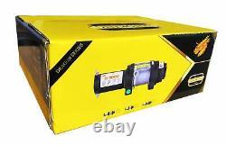 Sinoking 12vdc 6000lb / 2722 KG Utv Et Vtt Treuil Avec 1 / 449feet Corde Synthétique