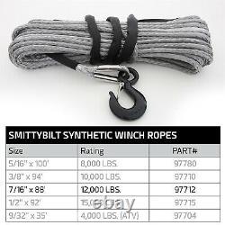 Smittybilt 97712 Rope De Treuil Synthétique Xrc