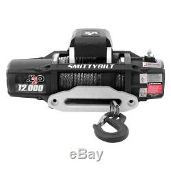 Smittybilt 98512 12 000 Lbs X2o Gen 2 Comp Étanche Winch Withsynthetic Corde