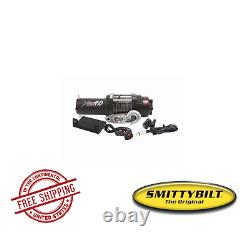 Smittybilt Atv Xrc 4.0 Comp-series Winch Avec Synthetic Rope & Aluminium Fairlead