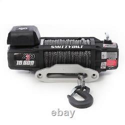 Smittybilt Winch X20-10k Gen2 Corde Synthétique Étanche Sans Fil Télécommande 98510