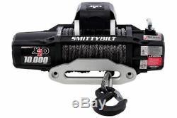 Smittybilt X2o-10k Comp Sans Fil Corde Synthétique Imperméable Winch Convient Jeep 4x4