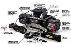 Smittybilt X2o-12k 98512 Comp Étanche Sans Fil Corde Synthétique Winch Jeep 4x4