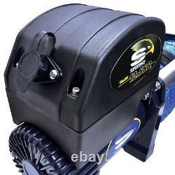 Superwinch 1612201 Talon 12,5sr Winch 12500 Lbs 3/8 En X 80 Ft Rope Synthétique