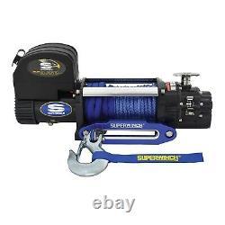 Superwinch Talon 9.5sr Winch 80 Rope Synthétique Et 18 000lb. Capacité 1695201