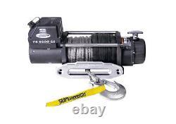 Superwinch Tiger Shark 9500 Sr (12v) Treuil Électrique Rope Synthétique