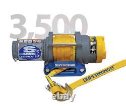 Superwinch Winch-terra 35 Sr 3 500 Lb Capacité 19 Fpm Vitesse Rope Synthétique