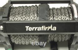 Terrafirma A12000 12v Treuil Électrique 12 000 Lb Corde Synthétique Tf3301