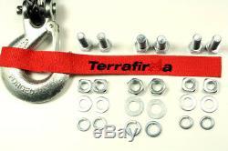 Terrafirma A12000 4x4 Récupération Treuil 12000lb Synthétique Corde De Tf3301 Landrover