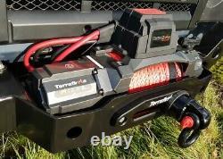 Terrafirma M12.5s 12v Corde Synthétique De Treuil Électrique Et 2 Télécommandes Sans Fil Tf3320