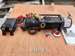 Treuil Électrique 13500lb Moins Cher Treuil De Camion De Récupération Avec Corde Synthétique