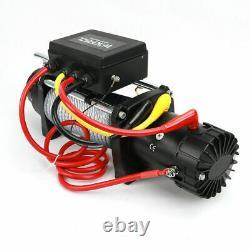 Treuil Électrique De Camion De Récupération 13500lb 12v Treuil De Récupération Avec Corde Synthétique