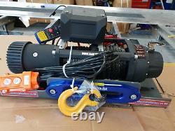 Treuil Électrique Pour Camion De Récupération 12v Free Twin Wireless Synthetic Rope Winch
