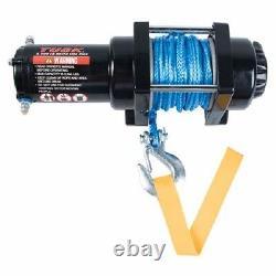 Tusk Winch Avec Corde Synthétique 3500lb Vtt Utv Sxs