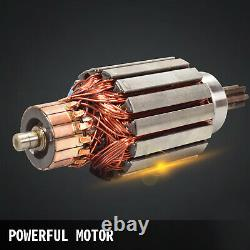 Vevor Treuil Électrique, 4500lbs 12v Rope Synthétique 4wd Vtt Utv Treuil Camion De Remorquage