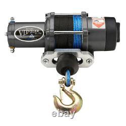 Viper Atv/utv Winch Elite 4500 Lb Avec 40 Pieds De Corde Synthétique