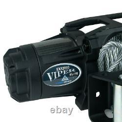 Viper Elite 12,000lb Recovery Truck Winch Avec Corde Synthétique Noire