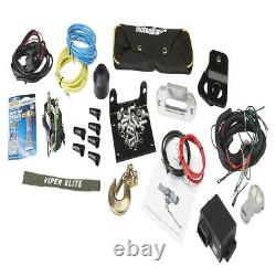Viper Elite 5000 Lb Widespool Winch 65 Pieds Vert Amsteel-blue Rope Synthétique