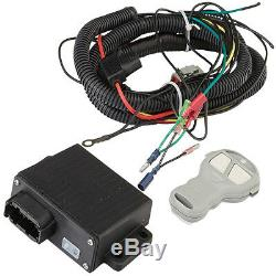 Viper Elite 6000 Lb Widespool Utv Treuil De 65 Pieds Rouge Amsteel Bleu Corde Synthétique