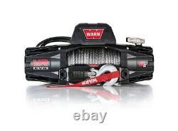 Vr Evo 8-s Warn Electric Winch 12v Hawse Fairlead 90' 3/8 Corde Synthétique 103251