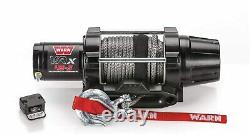 Warn 101040 Vrx 45-s Powersports Winch Handlebar Mounted Switch Synthetic Rope