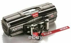 Warn 101150 Axon 55 S Corde Synthétique Utv Treuil Rockerbar Commutateur De Commande Numérique