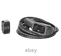 Warn 101240 Axon 4500-rc Treuil 27' 1/4 Corde Synthétique 4500 Lbs Vtt Utv Offroad