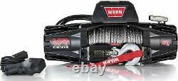 Warn 103251 Vr Evo 8-s Électrique 12v DC Treuil Avec Corde Synthétique 8000 Lb Cap