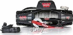Warn 103253 Vr Evo 10-s Électrique 12v DC Treuil Avec Corde Synthétique 3/8 Diamètre