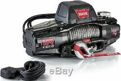 Warn 103253 Vr Evo 10-s Standard Duty Treuil Avec Corde Synthétique 10 000 Lb Cap