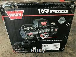 Warn 103253 Vr Evo 10-s Treuil De Service Standard Avec Corde Synthétique 10 000 Lb Casquette