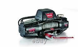 Warn 103255 Vr Evo 12-s Électrique 12v DC Treuil Avec Corde Synthétique 3/8 Diamètre