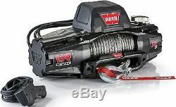 Warn 103255 Vr Evo 12-s Standard Duty Treuil Avec Corde Synthétique 12 000 Lb Cap