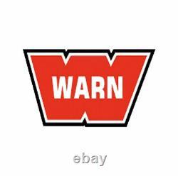 Warn 10 000 Lbs 3/8 X 100' Spydura Synthétique 87915 Rope De Treuil Avec Crochet Pivotant