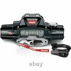 Warn 95950 Zeon 12-s Winch Avec 80 Ft. Spydura Pro Rope Synthétique Et Hawse Fair