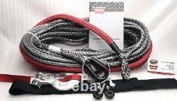 Warn 96040 Spydura Pro Synthetic Rope 100' X 3/8 Pour Treuils Jusqu'à 16.500 Lbs